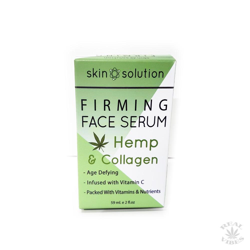 Skin Solution Hemp & Collagen Firming Face Serum (2 oz )